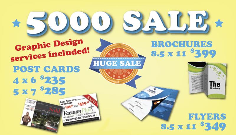 printing sale